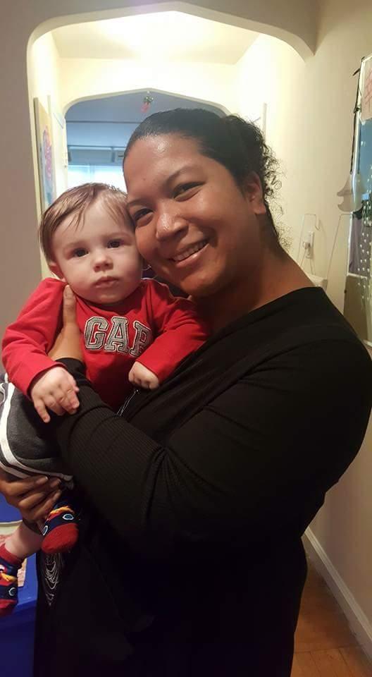 Hanging with Aunt Lauren