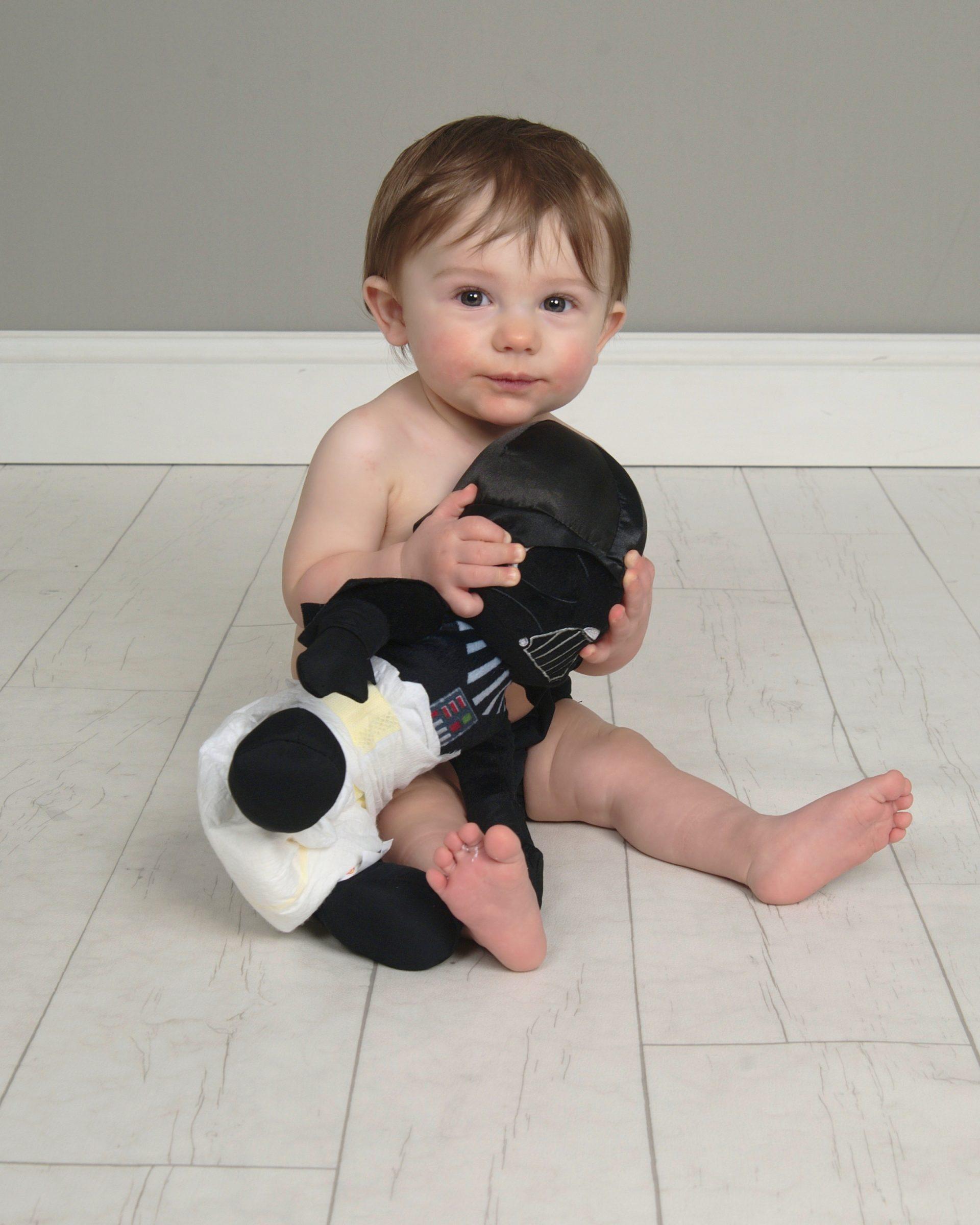 Darth Vader in Diaper