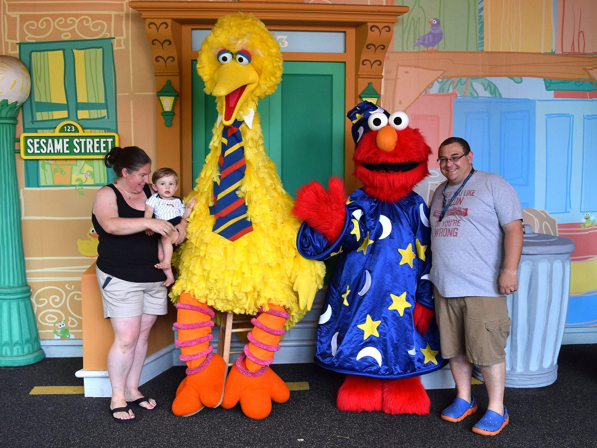 Sesame place visit